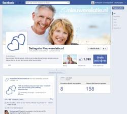 nieuwe relatie facebook