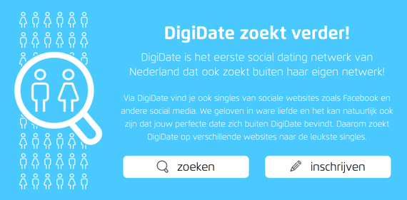 dating site VS sociaal netwerk