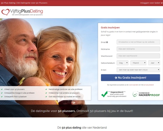 Gratis dating 50 plussers